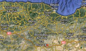 séisme à Bordj Bou Arreridj