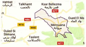 merouana, wilaya de Batna
