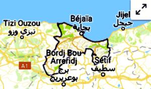 séisme à Bejaia