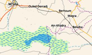 seisme à Msila (ain-khadra)